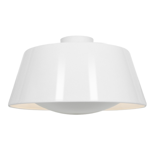 Access Lighting Access Lighting Soho Glossy White Flushmount Light 23764-GWH