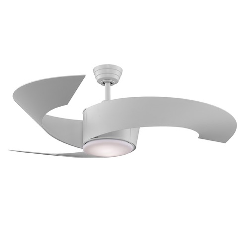 Fanimation Fans Fanimation Fans Torto Matte White Ceiling Fan with Light FP7900MW