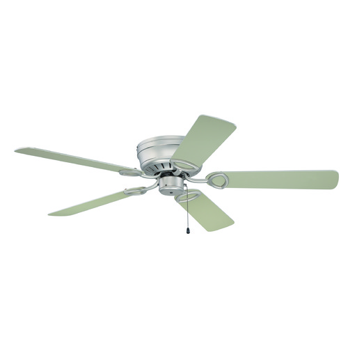 Craftmade Lighting Craftmade Lighting Pro Universal Hugger Brushed Satin Nickel Ceiling Fan Without Light K10197