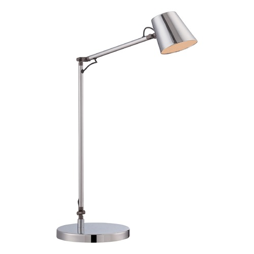George Kovacs Lighting George Kovacs Chrome LED Table Lamp with Conical Shade P303-1-077-L
