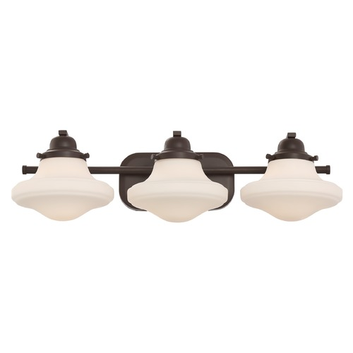 Quoizel Lighting Quoizel Lighting Garrison Western Bronze Bathroom Light GRN8603WT