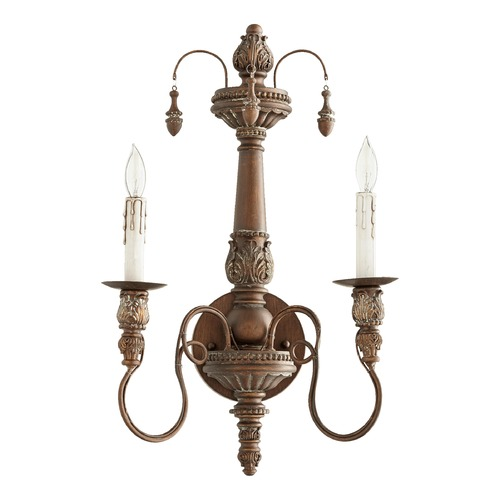Quorum Lighting Quorum Lighting Salento Vintage Copper Sconce 5506-2-39