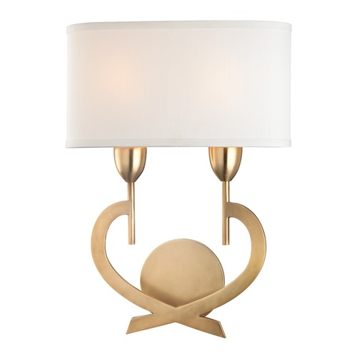 Hudson Valley Lighting Hudson Valley Lighting Downing Aged Brass Sconce 2150-AGB