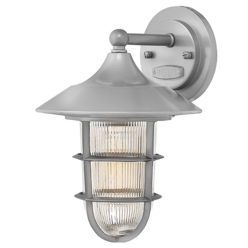 Hinkley Lighting Hinkley Lighting Marina Hematite Outdoor Wall Light 2480HE