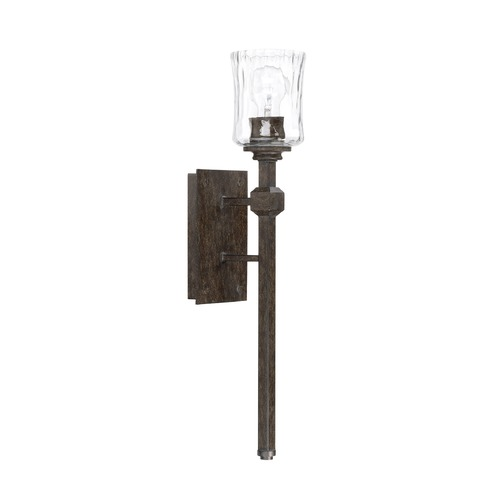 Capital Lighting Capital Lighting Porter Renaissance Brown Sconce 620911RB-425