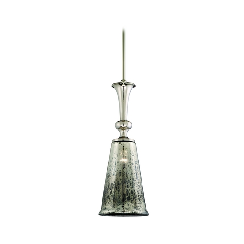 Corbett Lighting Mini-Pendant Light with Mercury Glass 103-44