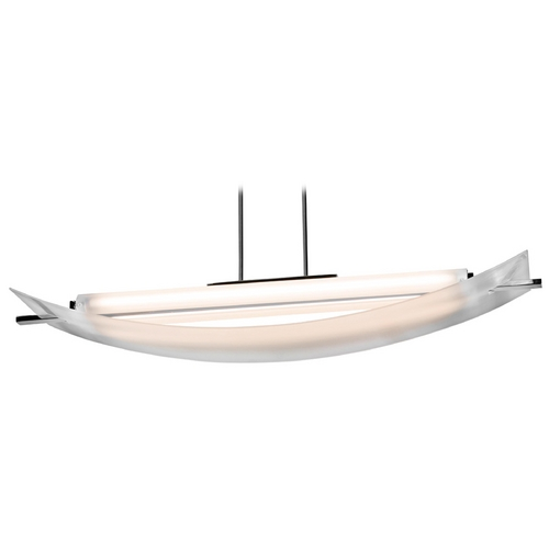 Access Lighting Modern Pendant Light in Chrome Finish 31017-CH/FST