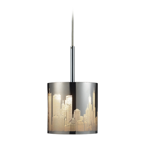 Elk Lighting Modern Mini-Pendant Light 31037/1