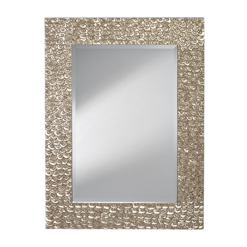 Feiss Lighting Rectangle 36-Inch Mirror MR1222PSL