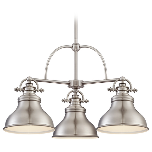Quoizel Lighting Quoizel Emery Brushed Nickel Chandelier ER5103BN