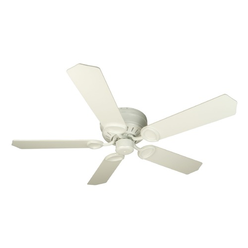 Craftmade Lighting Craftmade Lighting Pro Universal Hugger White Ceiling Fan Without Light K10198