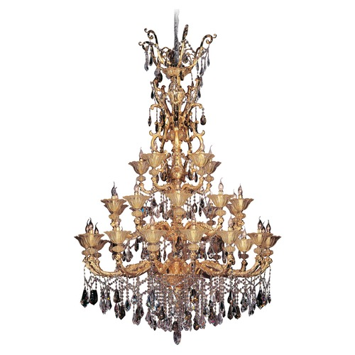 Allegri Lighting Mendelsshon 30 Light Crystal Chandelier 11098-016-FR000