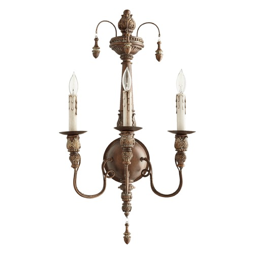 Quorum Lighting Quorum Lighting Salento Vintage Copper Sconce 5506-3-39