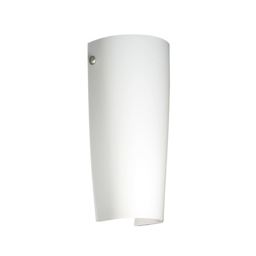Besa Lighting Besa Lighting Tomas Satin Nickel LED Sconce 704107-LED-SN