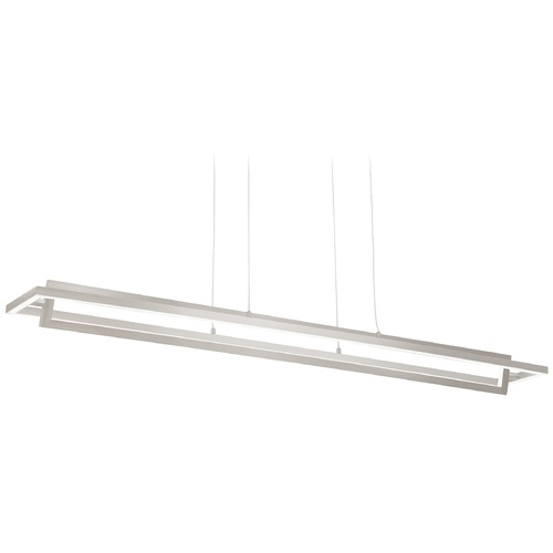 Kuzco Lighting Modern Brushed Nickel LED Pendant 3000K 1314LM LP16140-BN