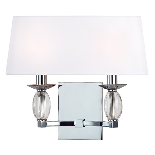 Hudson Valley Lighting Cameron ADA 2 Light Sconce - Polished Chrome 4612-PC
