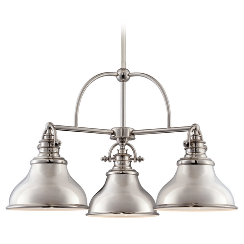 Quoizel Lighting Quoizel Emery Imperial Silver Chandelier ER5103IS