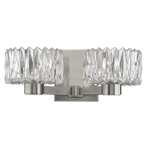 Hudson Valley Lighting Anson 2 Light Bathroom Light - Satin Nickel 2172-SN