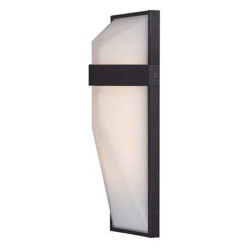 George Kovacs Lighting George Kovacs Wedge Black LED Sconce P1237-066-L