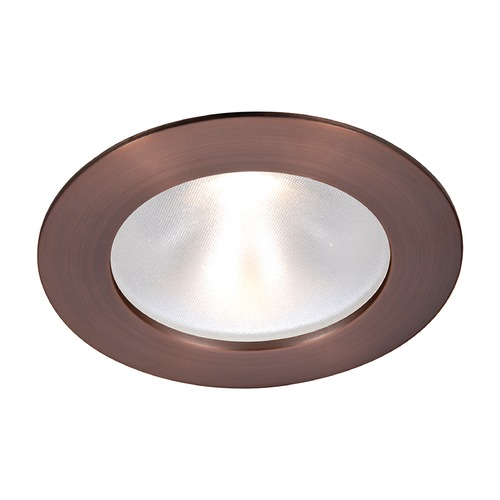 WAC Lighting WAC Lighting Round Copper Bronze 3.5-Inch LED Recessed Trim 3000K 1065LM 48 Degree HR3LD-ET118PF927CB