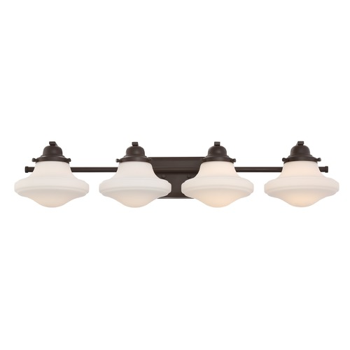 Quoizel Lighting Quoizel Lighting Garrison Western Bronze Bathroom Light GRN8604WT