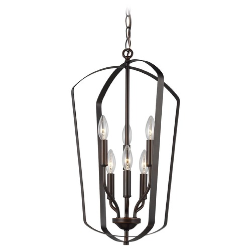 Sea Gull Lighting Sea Gull Lighting Romee Heirloom Bronze Pendant Light 5134906-782