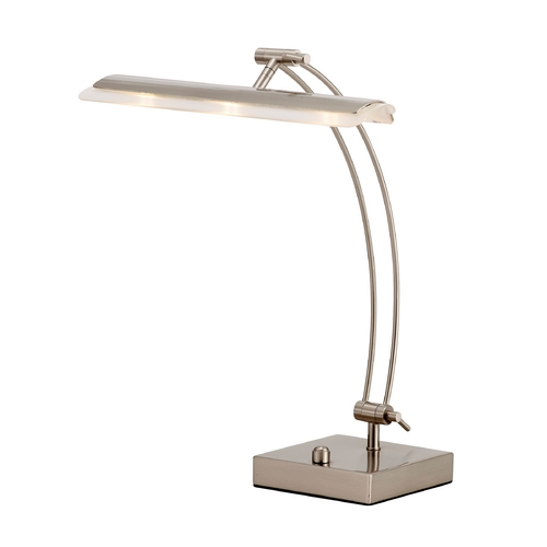 Adesso Home Lighting Adesso Home Lighting Esquire Satin Steel LED Desk Lamp 5090-22