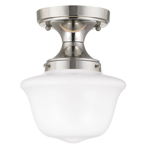 Design Classics Lighting 8-Inch Wide Schoolhouse Ceiling Light FDS-15 / GD8