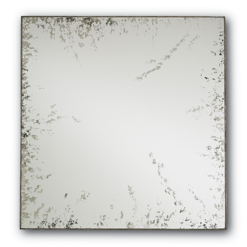 Currey and Company Lighting Square 24-Inch Mirror 1091