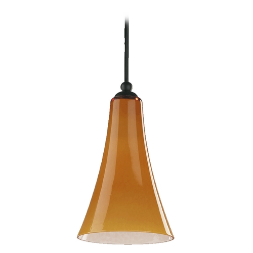 Quorum Lighting Quorum Lighting Old World Mini-Pendant Light with Bell Shade 867-95