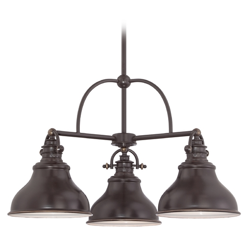 Quoizel Lighting Quoizel Emery Palladian Bronze Chandelier ER5103PN