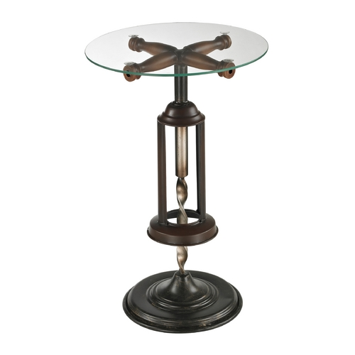 Sterling Lighting Sterling Lighting Mayfield Bronze Accent Table 51-10086