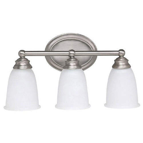 Capital Lighting Capital Lighting Matte Nickel Bathroom Light 1083MN-132