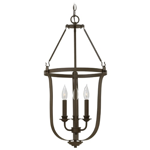 Hinkley Lighting Hinkley Lighting Fenmore Textured Bronze Pendant Light 4943TZ