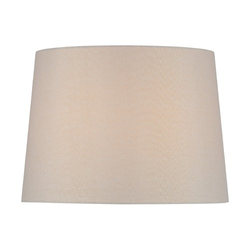 Lite Source Lighting Beige Drum Lamp Shade with Spider Assembly CH1258-16