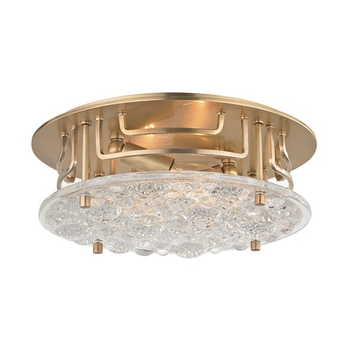 Hudson Valley Lighting Hudson Valley Lighting Holland Aged Brass Semi-Flushmount Light 4311-AGB