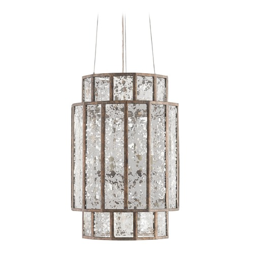 Currey and Company Lighting Currey and Company Fantasia Pyrite Bronze Pendant Light 9493