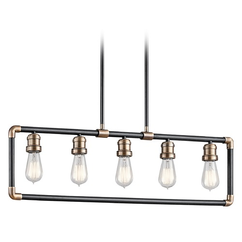 Kichler Lighting Kichler Lighting Imahn Black Island Light 43887BK
