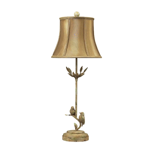 Dimond Lighting Table Lamp with Gold Shade in Mount Pleasant Finish 93-9159