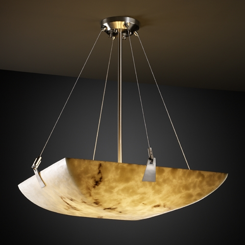 Justice Design Group Justice Design Group Lumenaria Collection Pendant Light FAL-9642-25-NCKL
