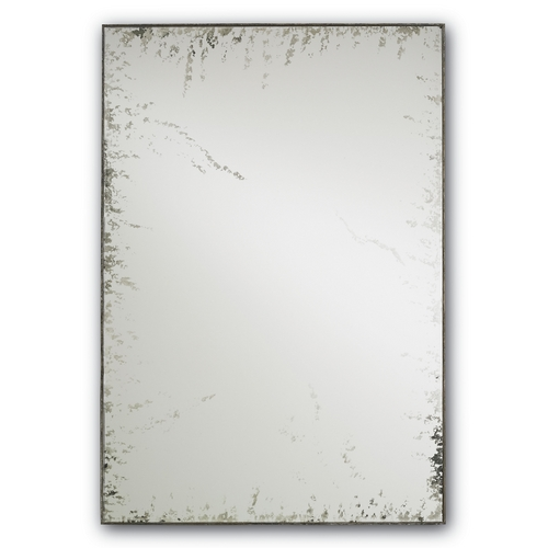 Currey and Company Lighting Rectangle 24-Inch Mirror 1092