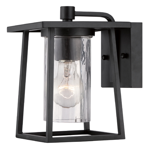 Quoizel Lighting Quoizel Lodge Mystic Black Outdoor Wall Light LDG8406K