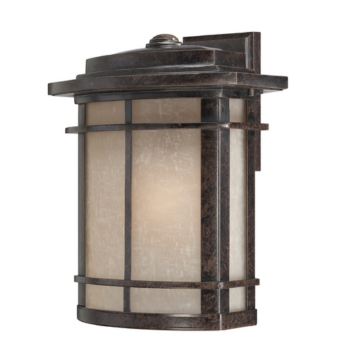 Quoizel Lighting Quoizel Galen Imperial Bronze Outdoor Wall Light GLN8412IBFL