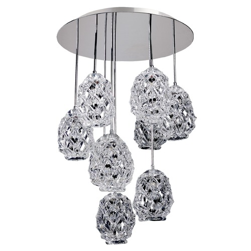 Allegri Lighting Veronese 25.5in Round Convertible / Pendant Or Flush Mount 11108-010-FR000