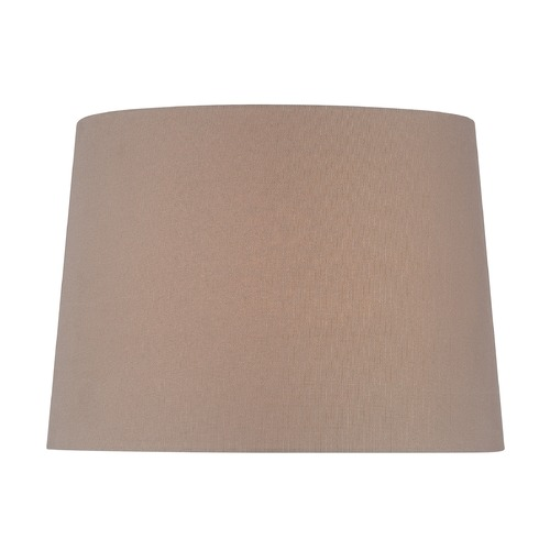 Lite Source Lighting Taupe Drum Lamp Shade with Spider Assembly CH1259-16