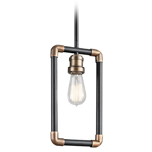 Kichler Lighting Kichler Lighting Imahn Black Mini-Pendant Light 43888BK