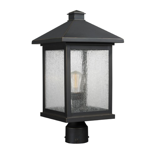 Z-Lite Z-Lite Portland Oil Rubbed Bronze Post Light 531PHBR-ORB