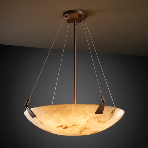 Justice Design Group Justice Design Group Lumenaria Collection Pendant Light FAL-9642-35-DBRZ