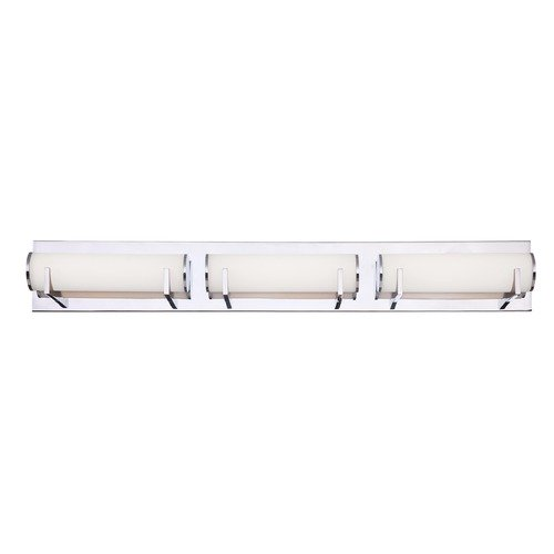 Dolan Designs Lighting Madison LED 3-Light Bathroom Light Chrome Finish 3163-26