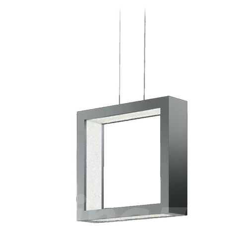 Swarovski Swarovski Square LED Pendant with Crystals SRE160-SI1S